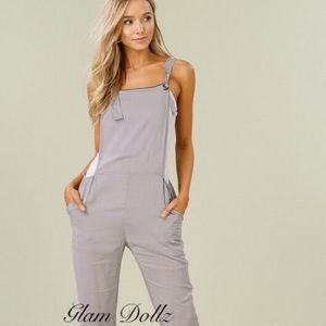 50 shades of grey overall jumpsuit ✨